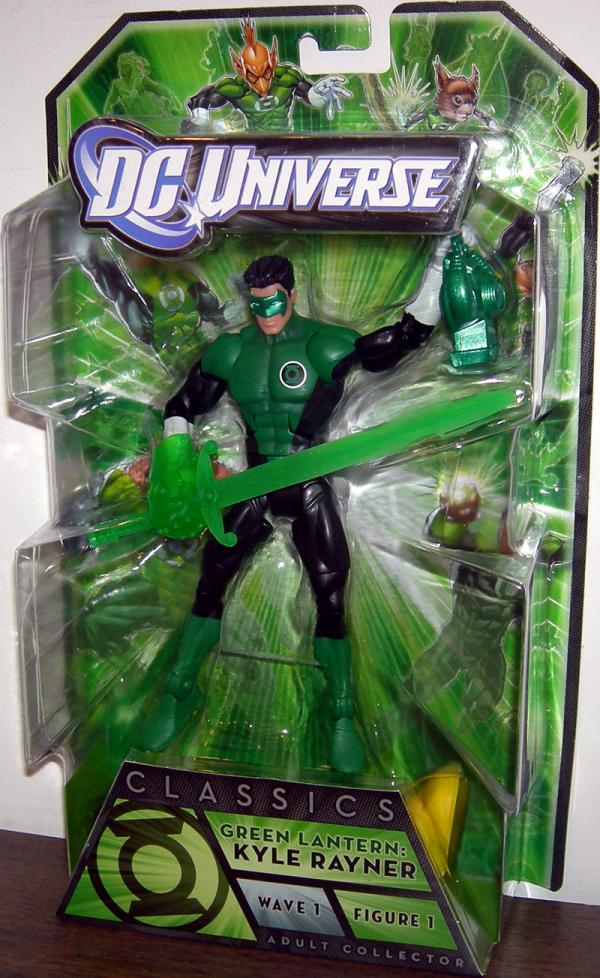 Green Lantern Kyle Rayner DC Universe Arkillo Wave action figure