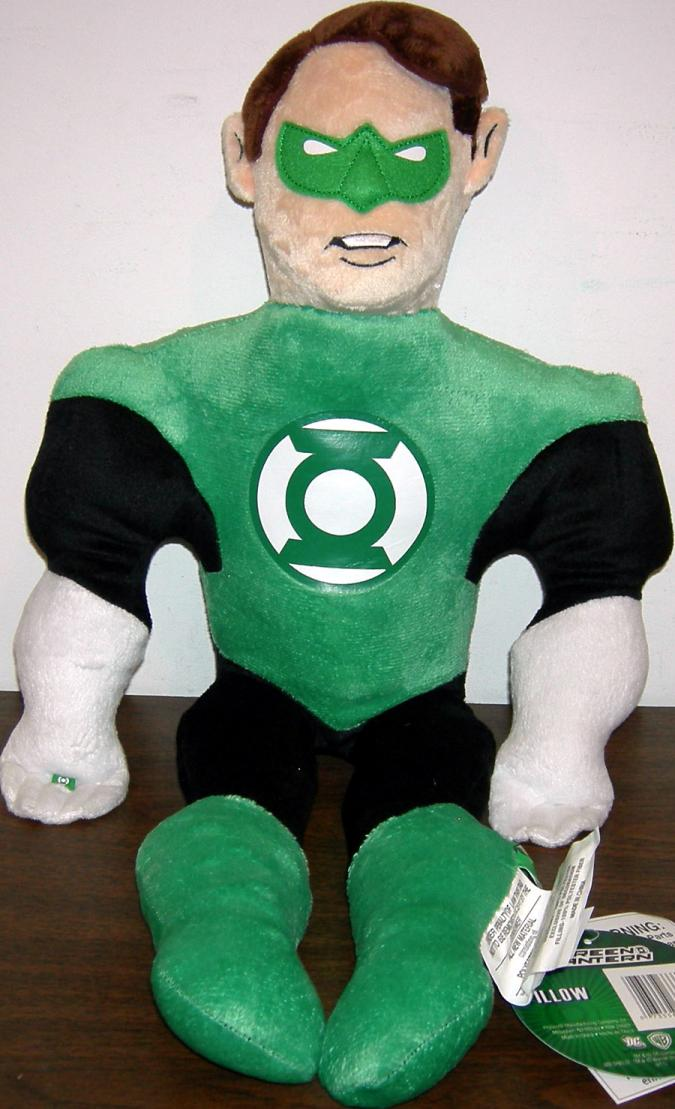 24 inch Green Lantern Pillow