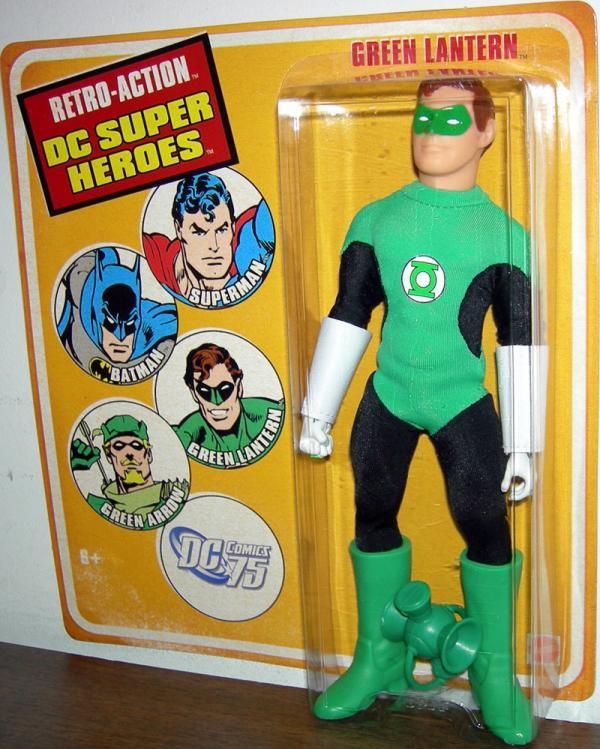 Green Lantern Figure Retro-Action DC Super Heroes Mattel