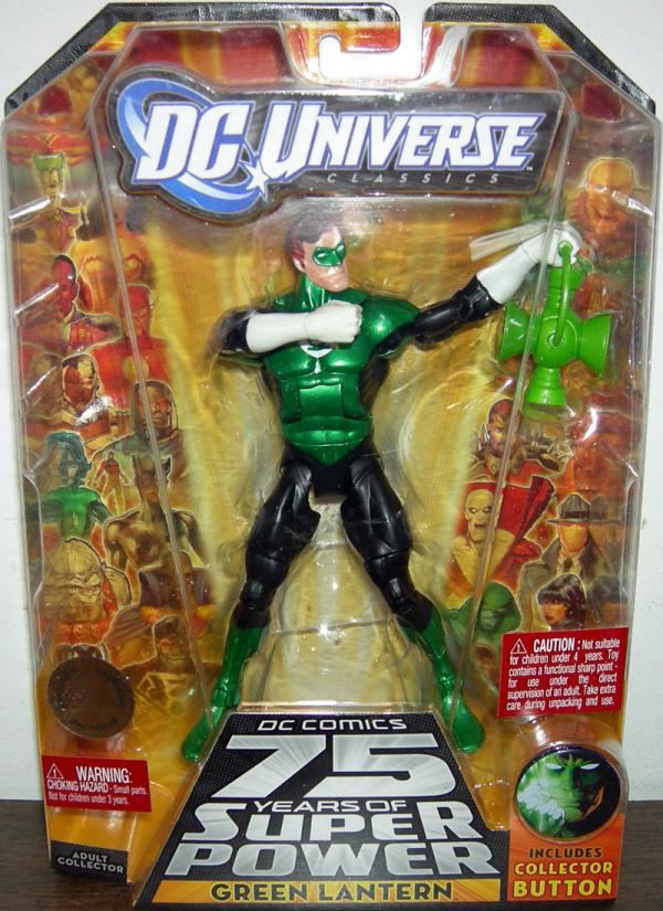 Green Lantern DC Universe Classics All Star 75 Years Super Power action figure