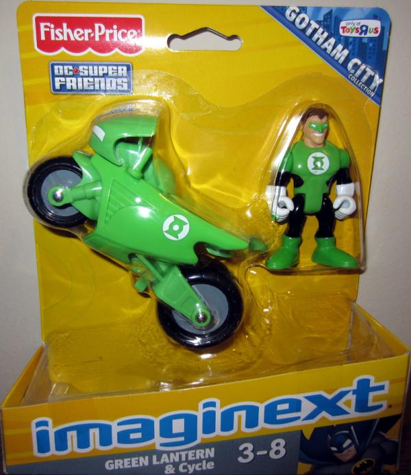 Green Lantern Cycle Imaginext, Toys R Us Exclusive
