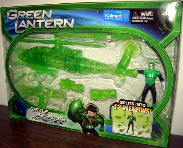 Green Lantern Battle Breakouts Construct Copter