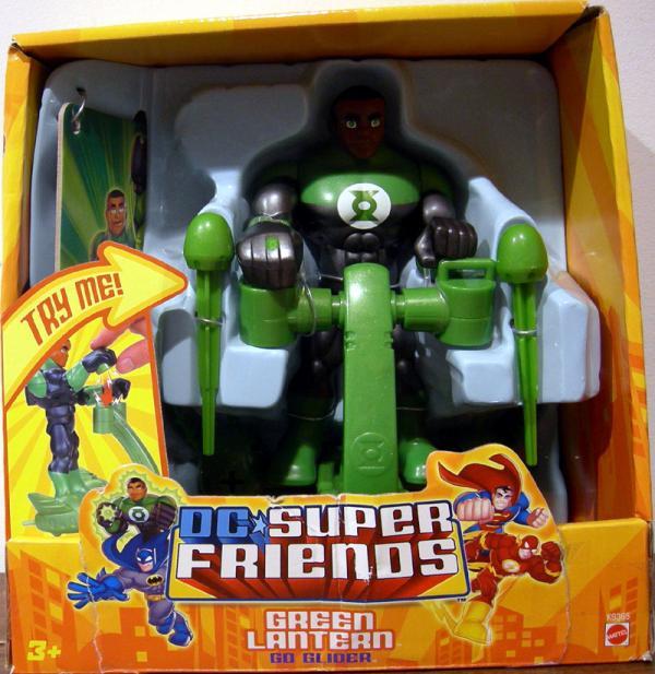 Green Lantern Go Glider
