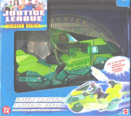 Green Lantern Motorcycle Justice League Mission Vision
