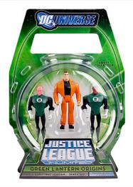 Green Lantern Origins Justice League Unlimited action figures