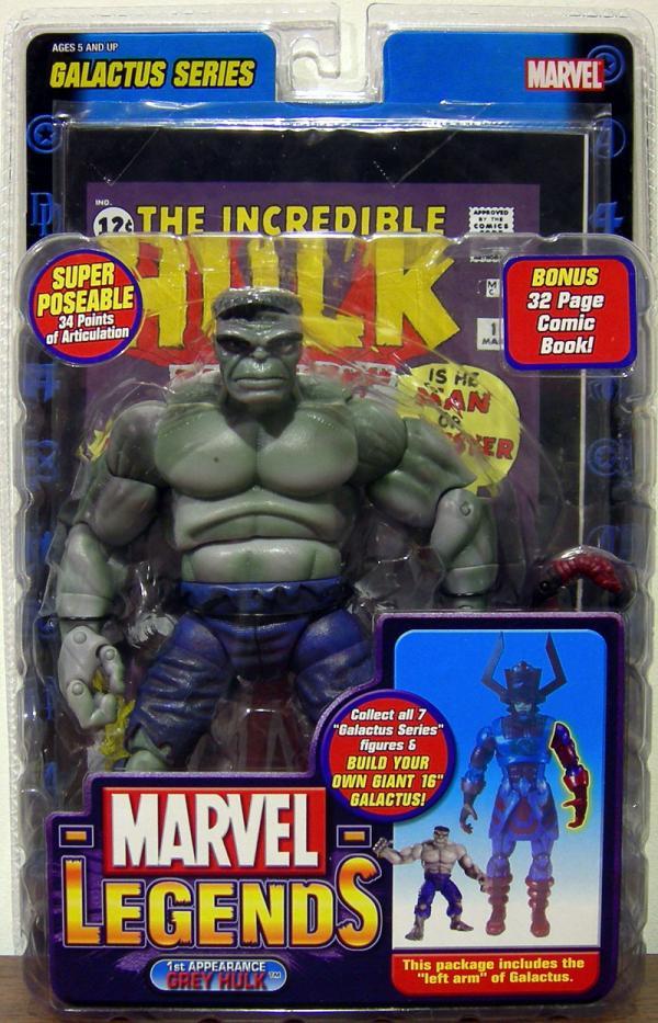 1st Appearance Grey Hulk, Marvel Legends
