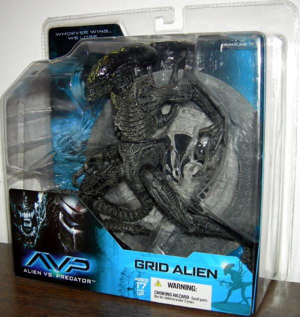 Grid Alien action figure