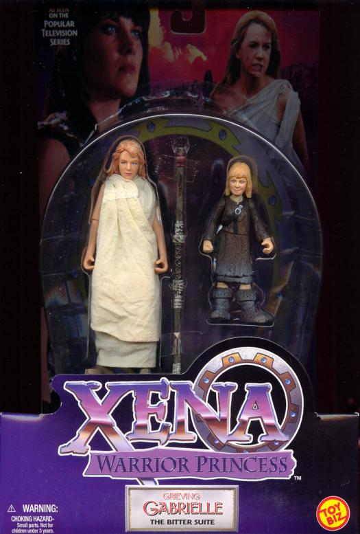 Grieving Gabrielle Action Figure Xena Warrior Princess Toy Biz