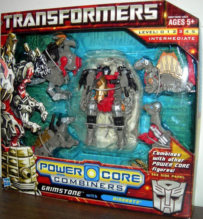 Commander Grimstone Dinobots Power Core Combiner