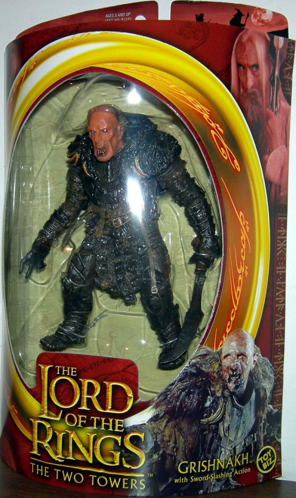 Grishnakh Figure Lord Rings Two Towers Toy Biz