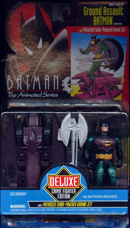 Ground Assault Batman Batman Animated Series