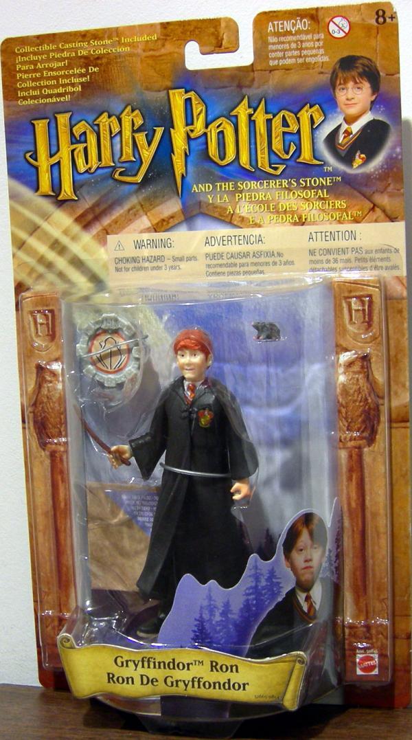 Gryffindor Ron Action Figure Robe Crest Harry Potter Sorcerers Stone