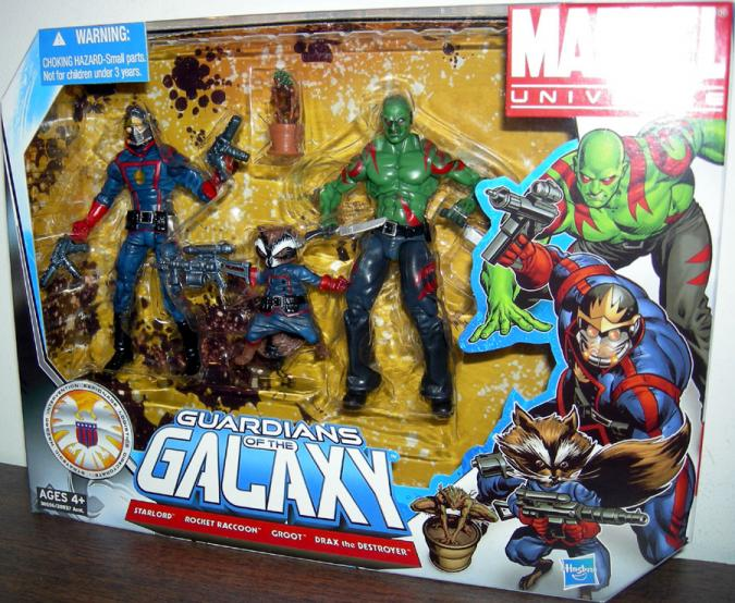 Guardians Galaxy 4-Pack Marvel Universe