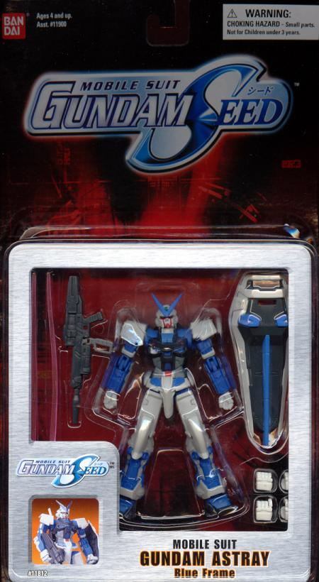 Gundam Astray Blue Frame Mobile Suit Gundam Seed action figure