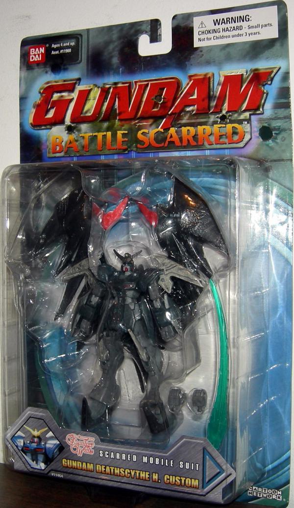 Gundam Deathscythe H Custom Battle Scarred Action Figure