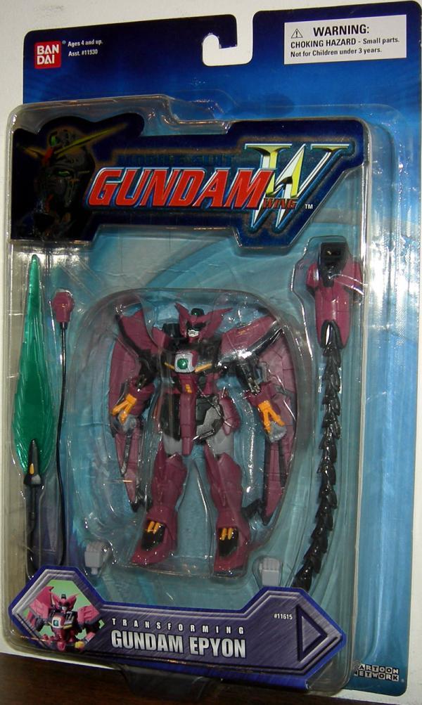 Gundam Epyon Transforming