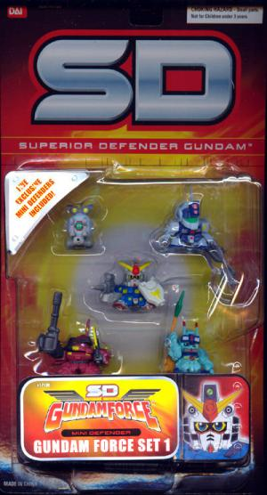 Gundam Force Set 1 Superior Defender