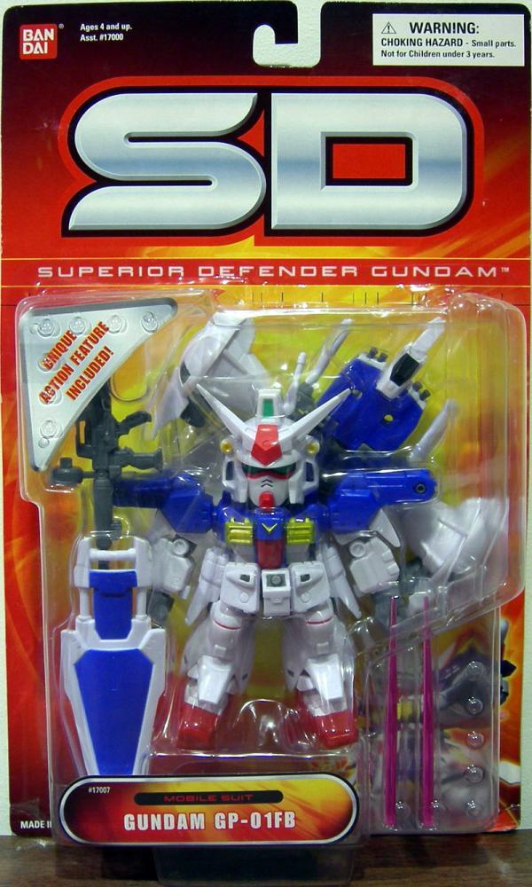 Gundam GP-01Fb Superior Defender Mobile Suit action figure