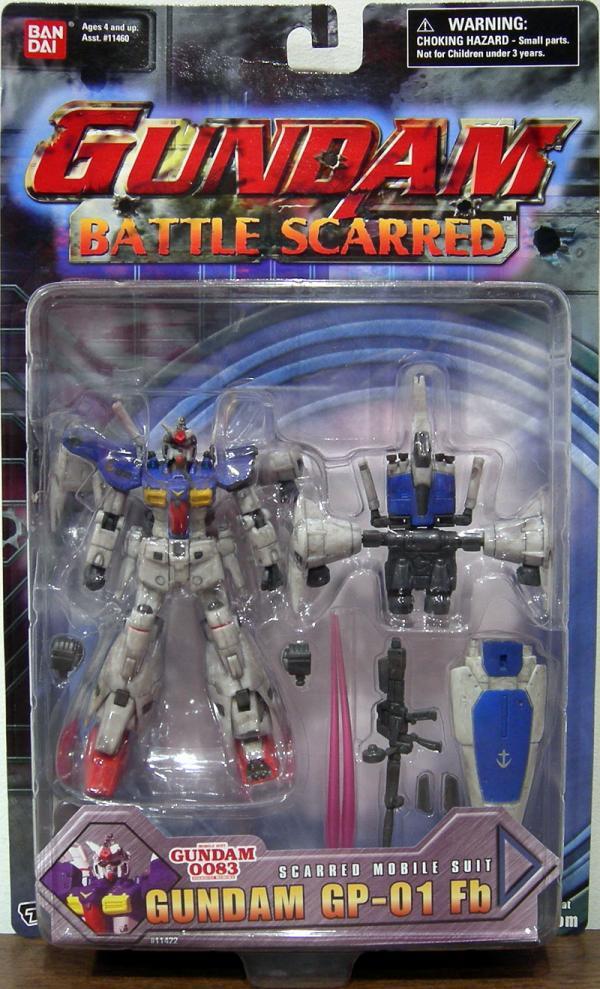 Gundam GP-01 Fb Battle Scarred