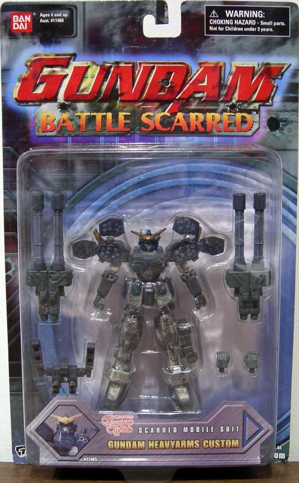 Gundam Heavyarms Custom Battle Scarred Action Figure Ban Dai