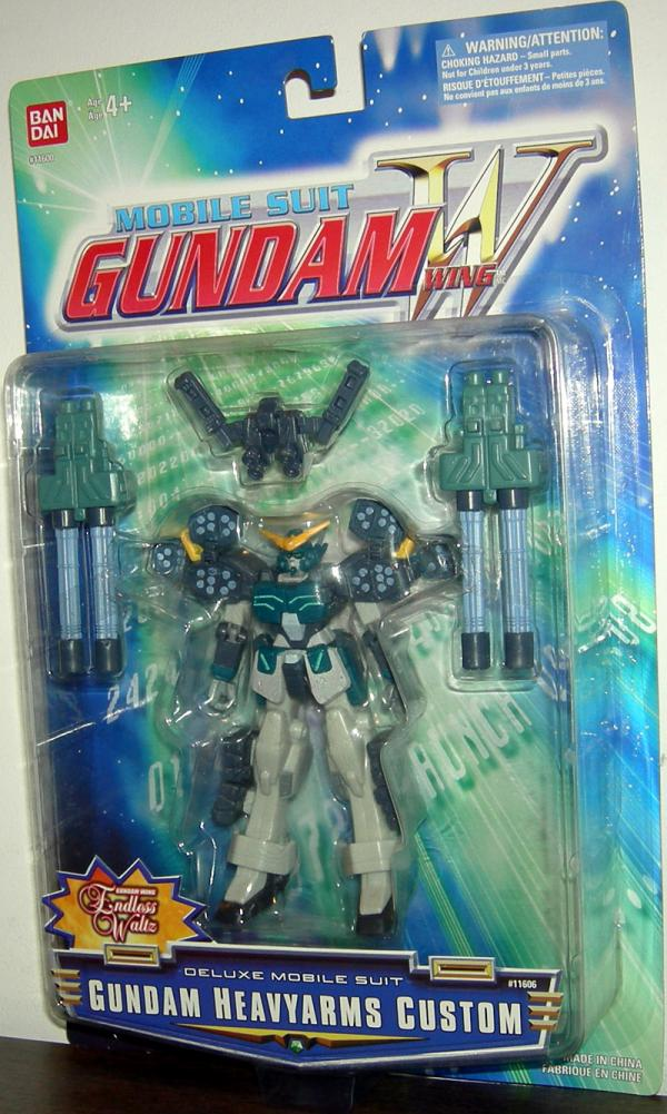 Gundam Heavyarms Custom Figure Mobile Suit Gundam Wing