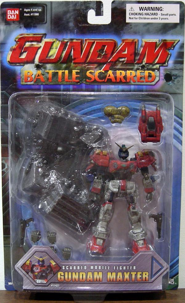 Gundam Maxter Battle Scarred
