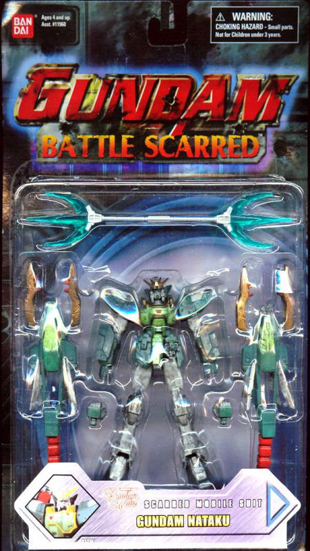 Gundam Nataku Battle Scarred Action Figure Ban Dai