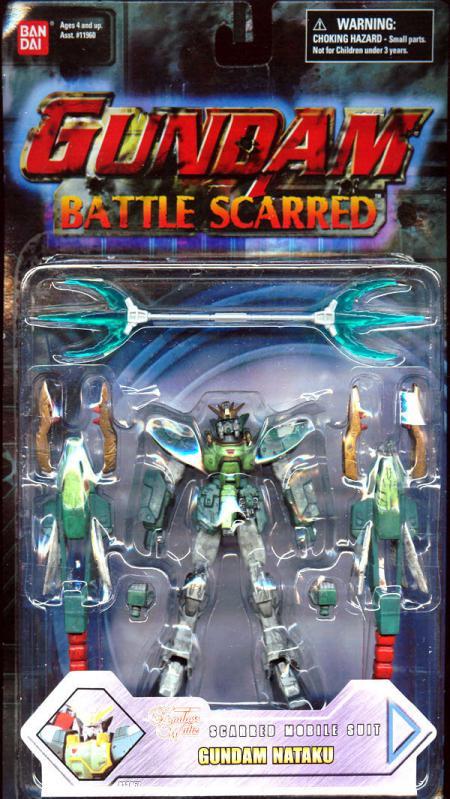 Gundam Nataku Battle Scarred Action Figure Ban Dai