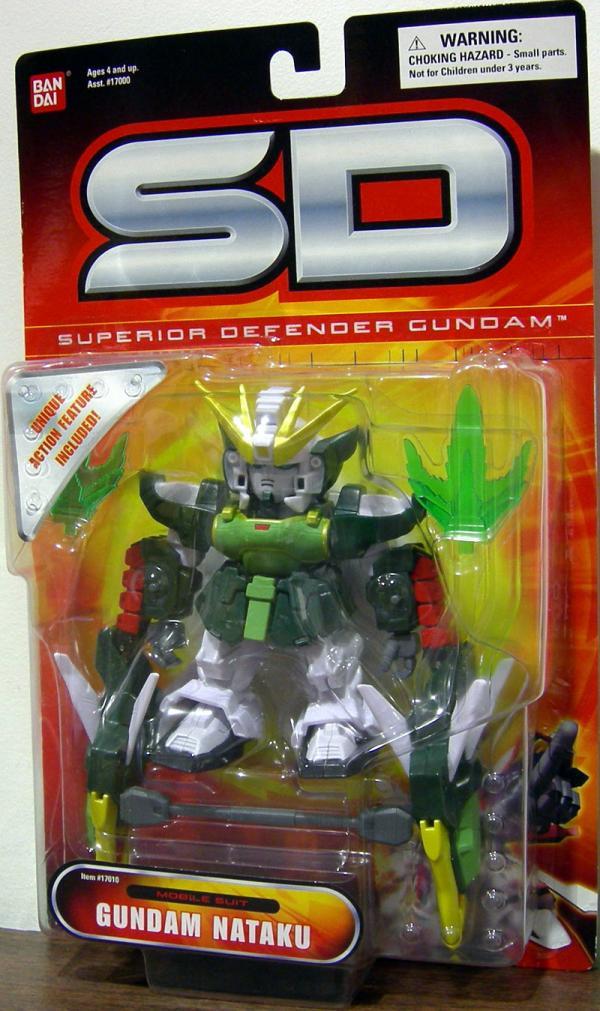 Gundam Nataku SD Superior Defender Mobile Suit action figure