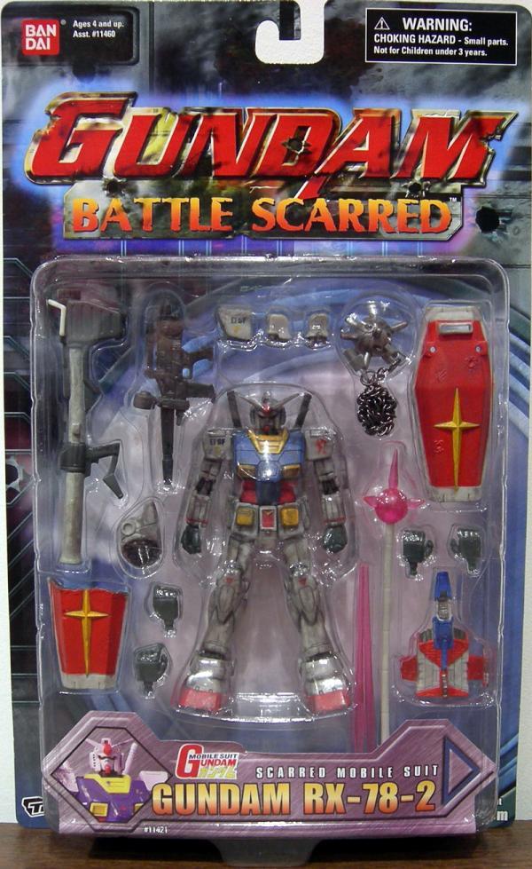 Gundam RX-78-2 Battle Scarred