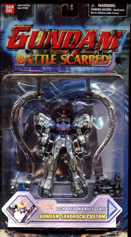 Gundam Sandrock Custom Battle Scarred Action Figure Ban Dai