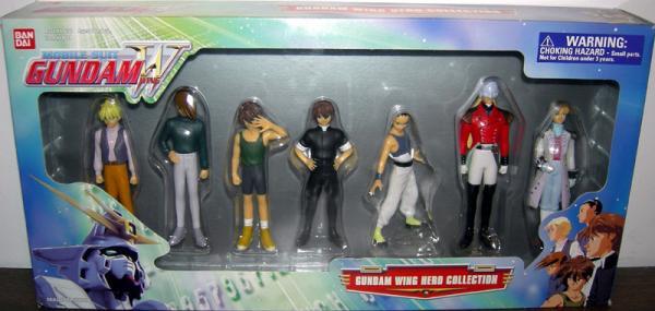 Gundam Wing Hero Collection 7-Pack