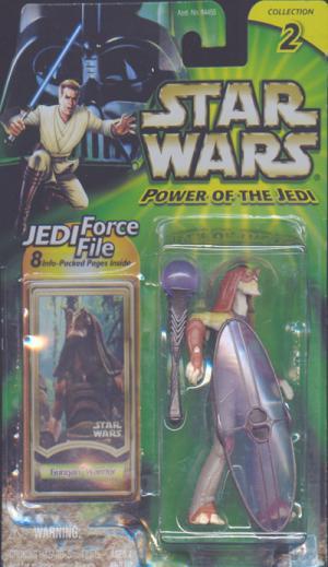 Gungan Warrior Star Wars Power Jedi action figure