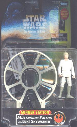 Millennium Falcon Luke Skywalker