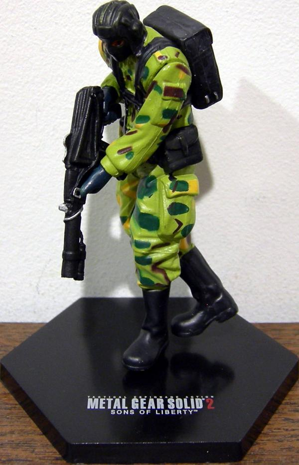 Gurlukovich Soldier Konami Metal Gear Solid 2 action figure