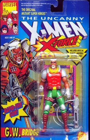 GW Bridge Figure X-Men X-Force Toy Biz