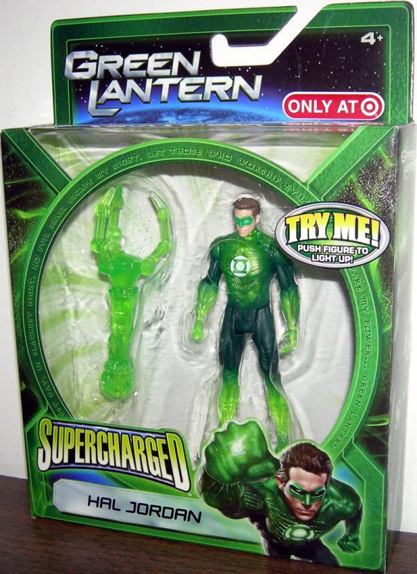 Hal Jordan Supercharged Green Lantern Target Exclusive action figure