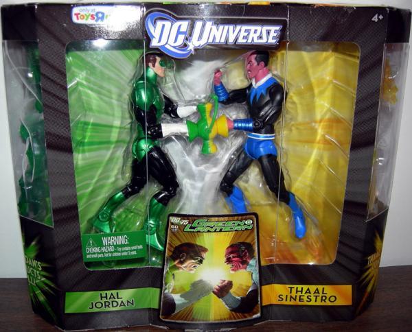 Hal Jordan vs Thaal Sinestro DC Universe