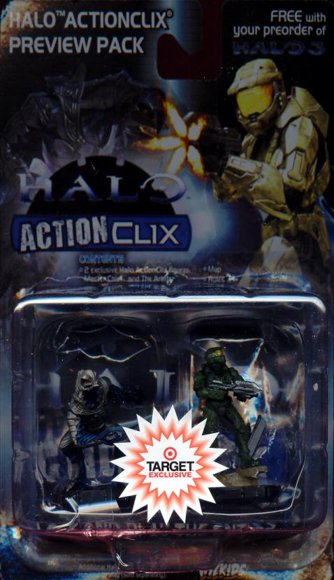 Halo ActionClix Preview 2-Pack Target Exclusive