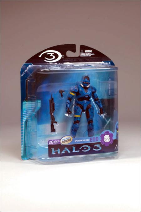 Blue Spartan EOD Halo 3, series 2