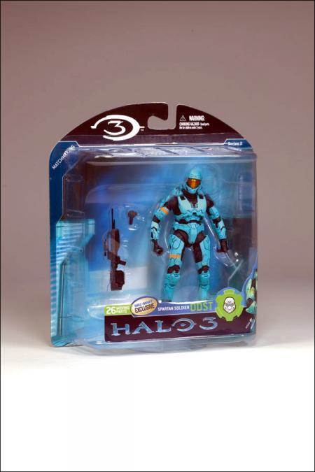 Cyan Spartan ODST Halo 3, series 2