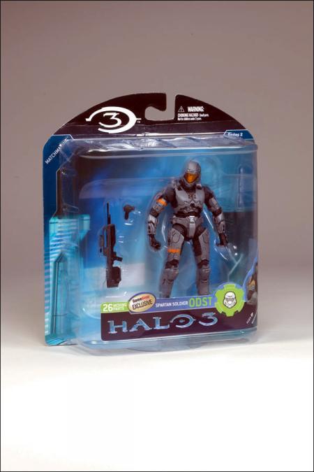 Steel Spartan Soldier ODST Halo 3, series 2