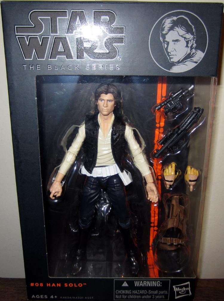 Han Solo Figure Black Series 08 Star Wars Hasbro