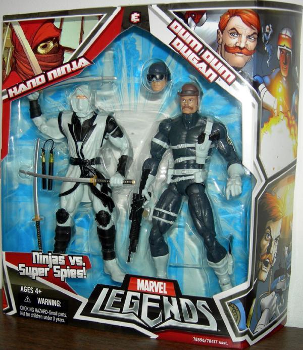 Hand Ninja Dum Dum Dugan Marvel Legends action figures