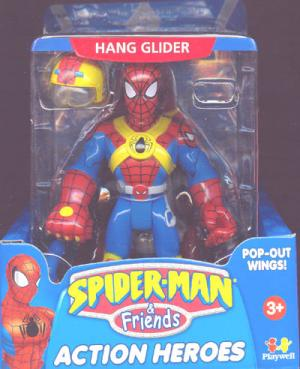 Hang Glider Spider-Man Friends Action Heroes action figure