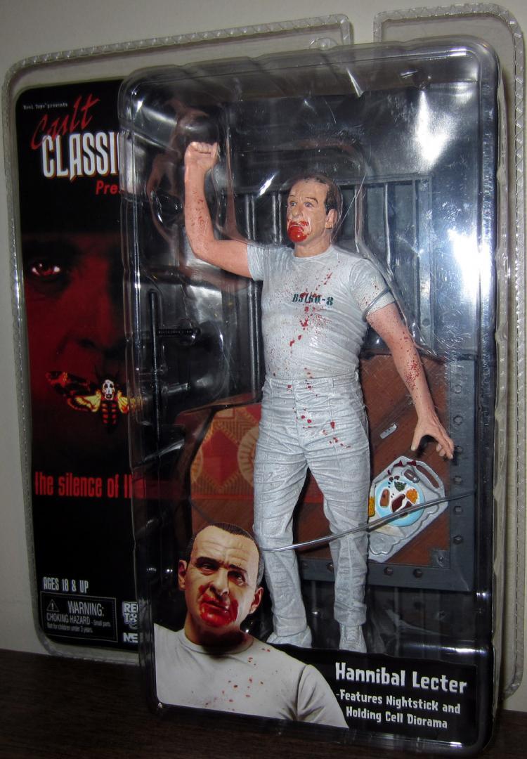 Hannibal Lecter Figure Cult Classics Neca Reel Toys