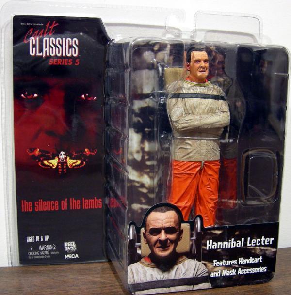 Hannibal Lecter Action Figure Neca Classic Cult Series 5