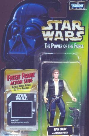 Han Solo freeze frame