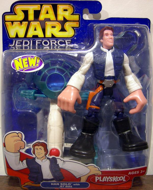 Han Solo Jedi Force Star Wars action figure