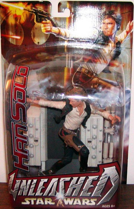 Han Solo Unleashed Action Figure Star Wars Hasbro